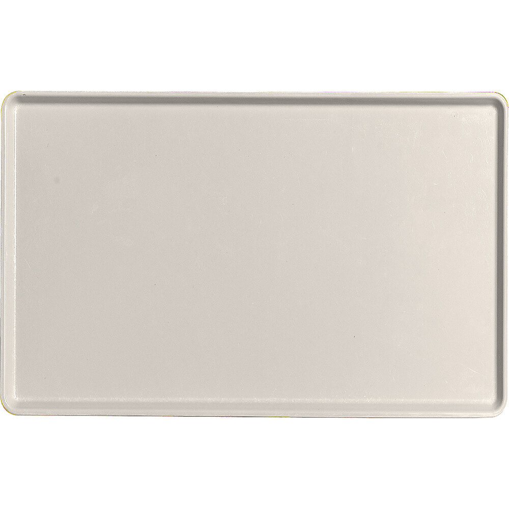 "Cottage White, 12"" x 19"" Healthcare Food Trays, Low Profile, 12/PK"