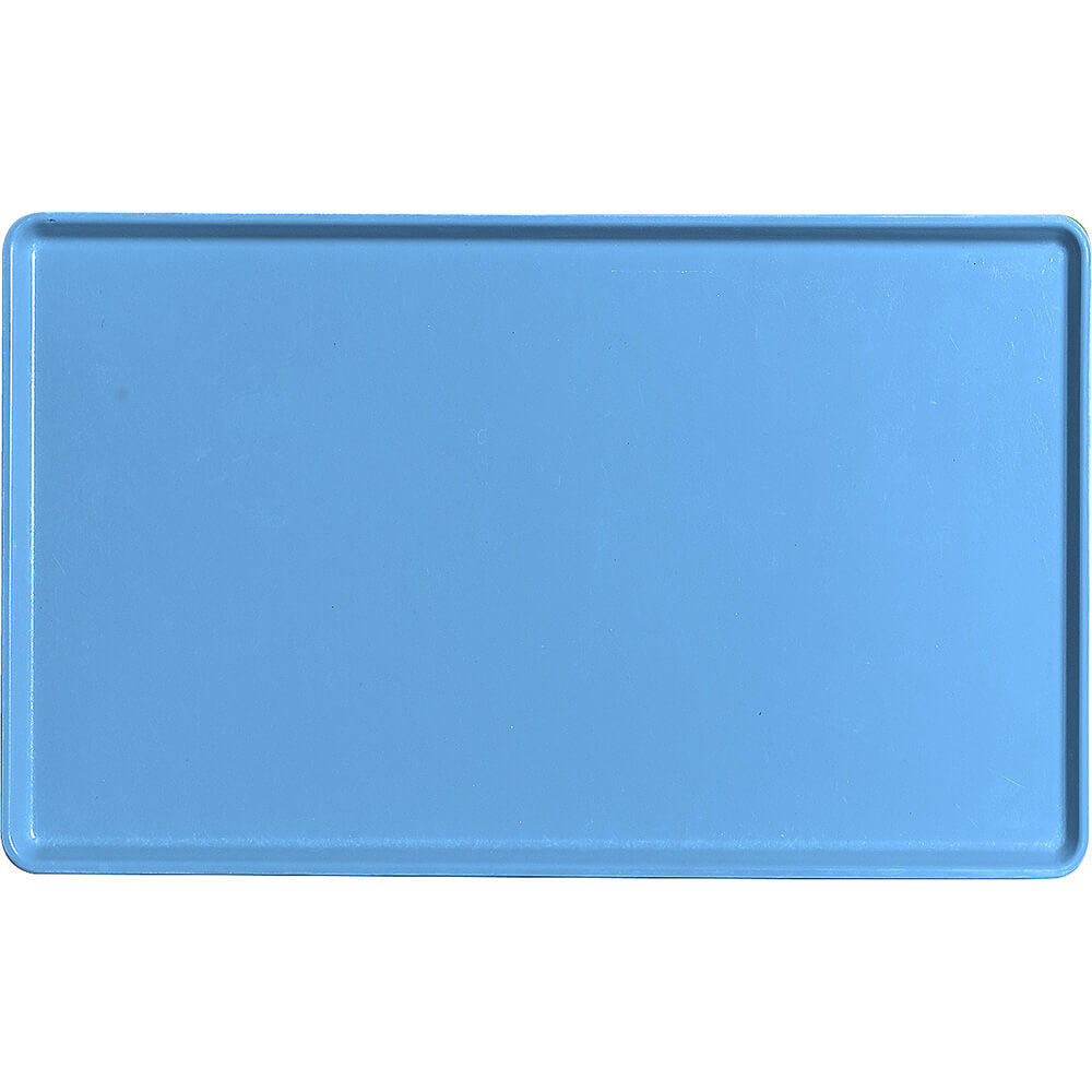 "Horizon Blue, 12"" x 20"" Healthcare Food Trays, Low Profile, 12/PK"