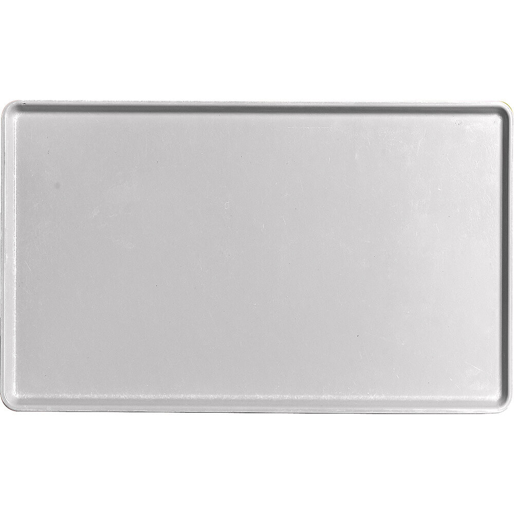 "Pearl Gray, 12"" x 20"" Healthcare Food Trays, Low Profile, 12/PK"