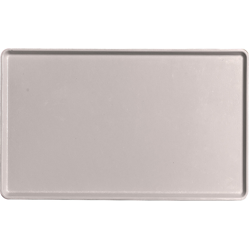 "Taupe, 12"" x 20"" Healthcare Food Trays, Low Profile, 12/PK"