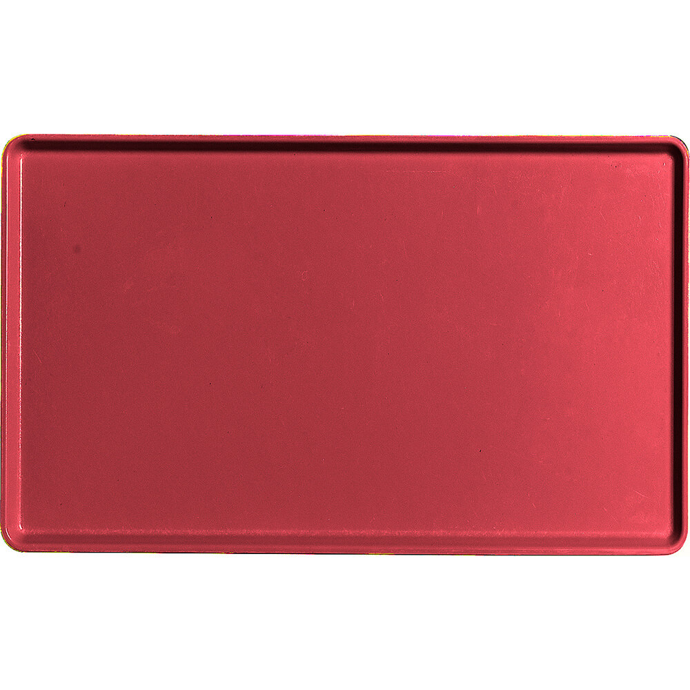 "Ever Red, 12"" x 20"" Healthcare Food Trays, Low Profile, 12/PK"