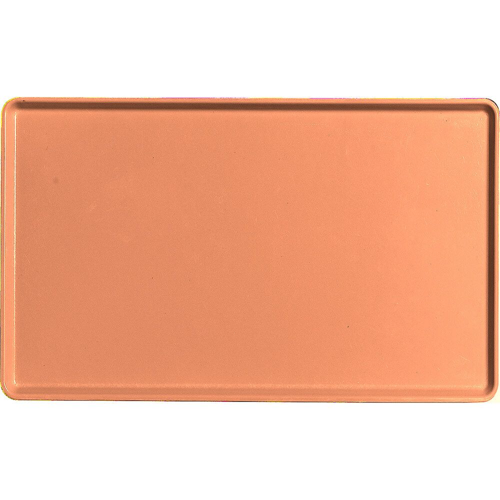 "Orange Pizazz, 12"" x 20"" Healthcare Food Trays, Low Profile, 12/PK"