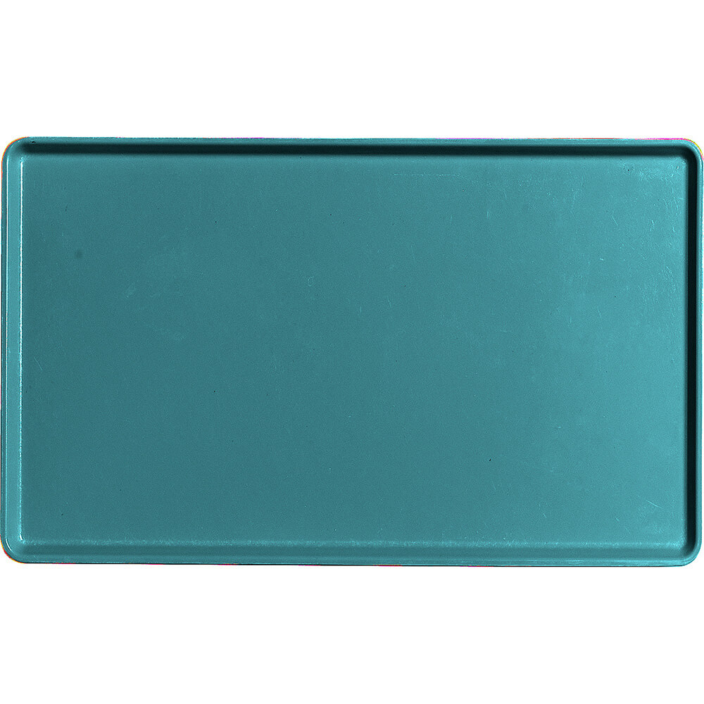 "Slate Blue, 12"" x 20"" Healthcare Food Trays, Low Profile, 12/PK"