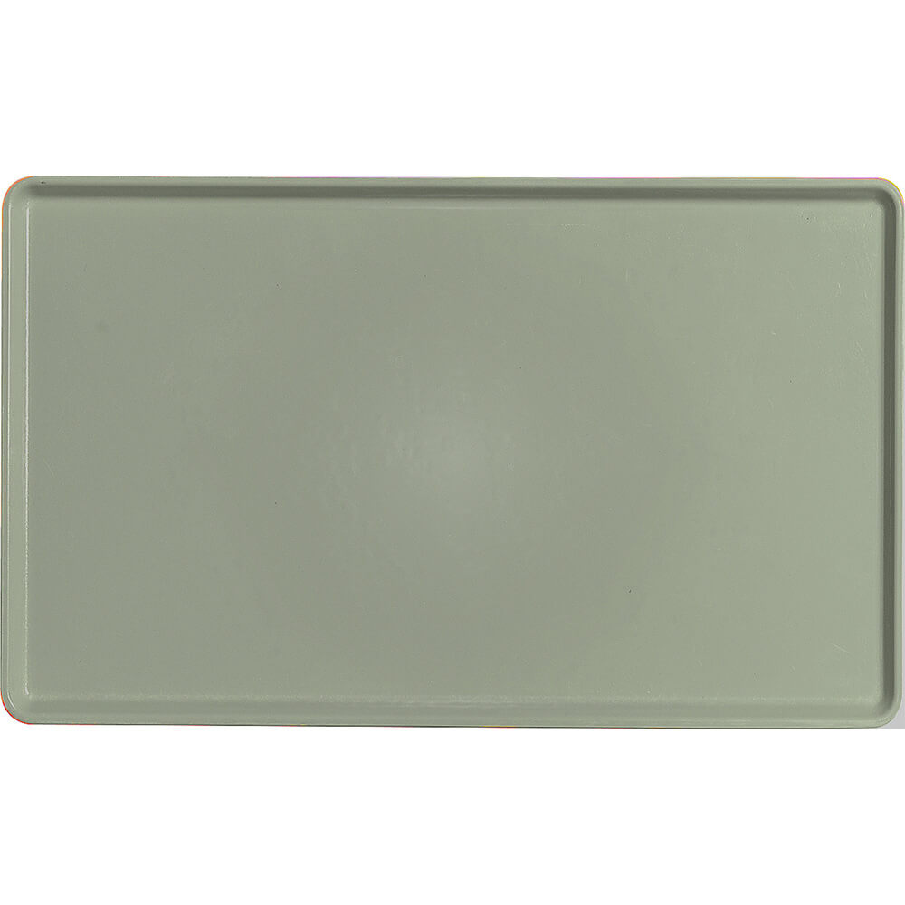 "Olive Green, 12"" x 20"" Healthcare Food Trays, Low Profile, 12/PK"