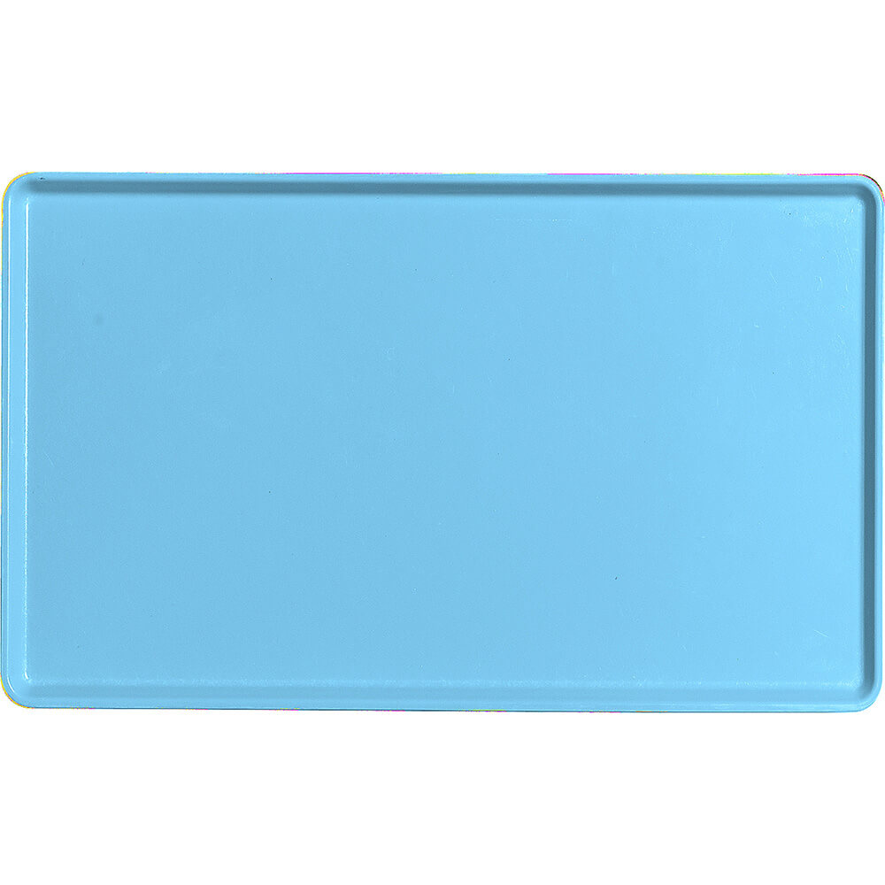 "Robin Egg Blue, 12"" x 20"" Healthcare Food Trays, Low Profile, 12/PK"