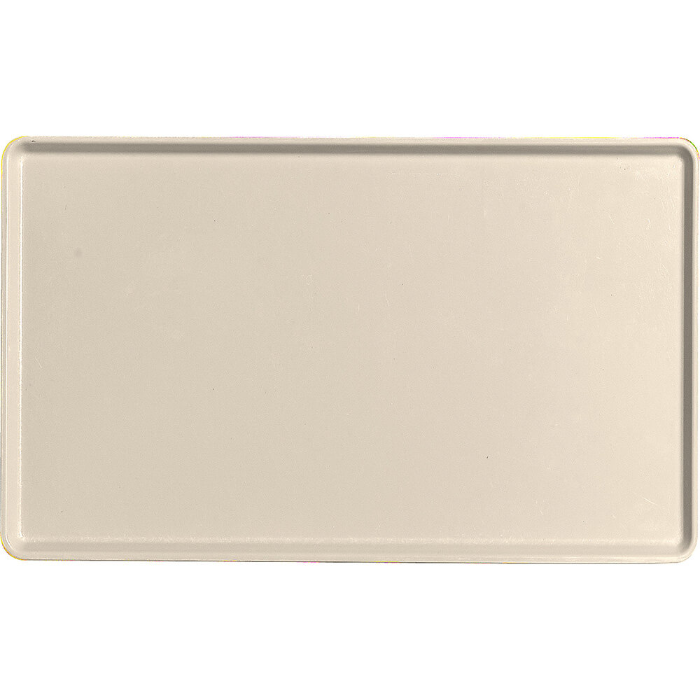 "Cameo Yellow, 12"" x 20"" Healthcare Food Trays, Low Profile, 12/PK"