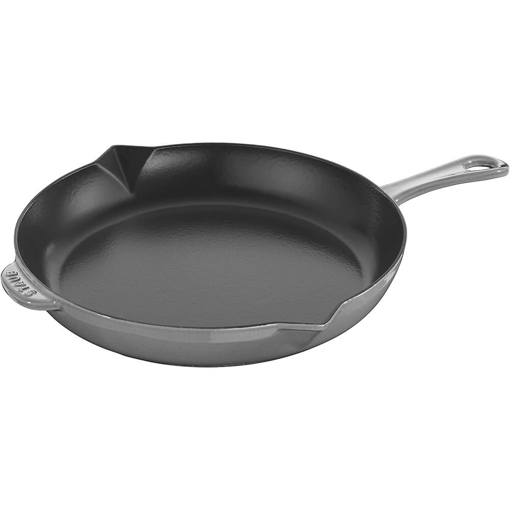 "Graphite Grey, 10"" Cast Iron Frying Pan"