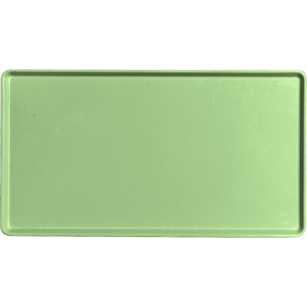 "Lime-Ade, 12"" x 22"" Healthcare Food Trays, Low Profile, 12/PK"
