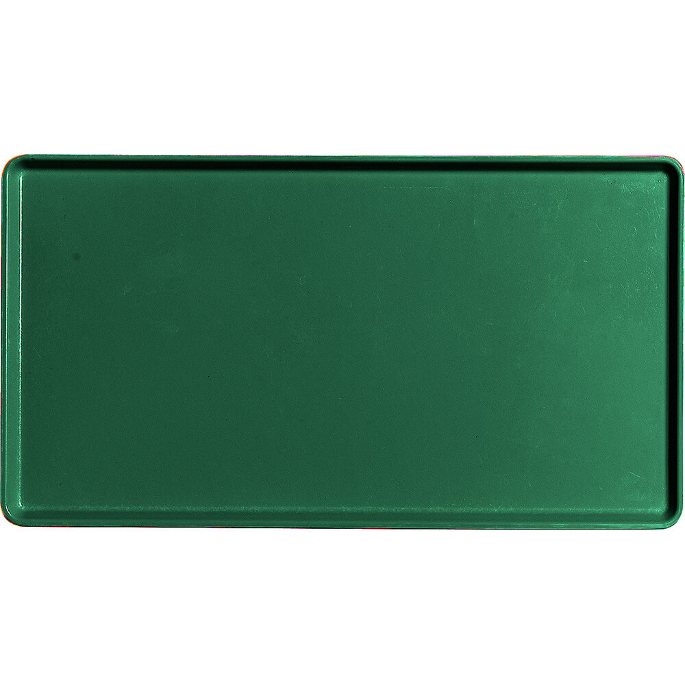 "Sherwood Green, 12"" x 22"" Healthcare Food Trays, Low Profile, 12/PK"