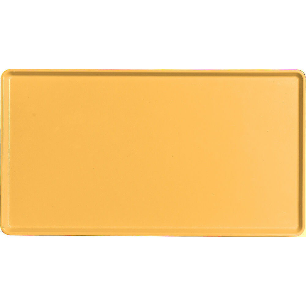 "Tuscan Gold, 12"" x 22"" Healthcare Food Trays, Low Profile, 12/PK"