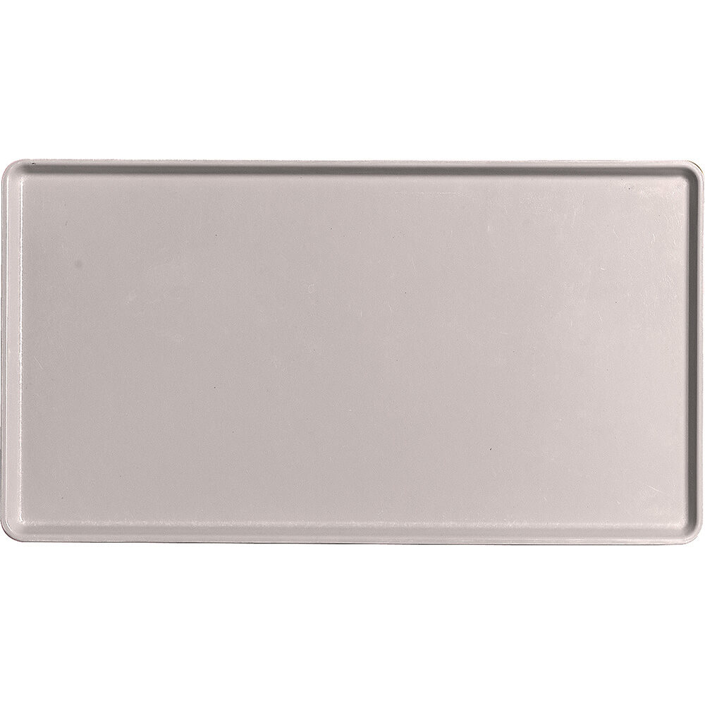 "Taupe, 12"" x 22"" Healthcare Food Trays, Low Profile, 12/PK"