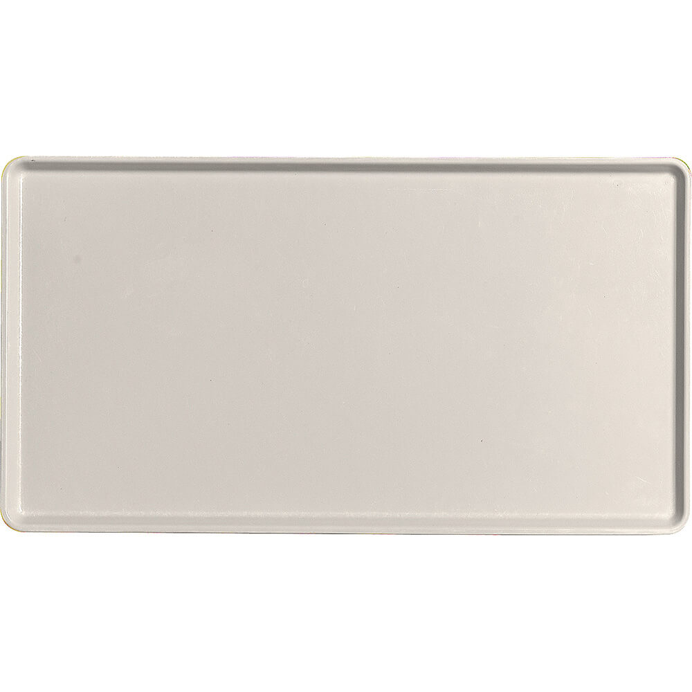"Cottage White, 12"" x 22"" Healthcare Food Trays, Low Profile, 12/PK"