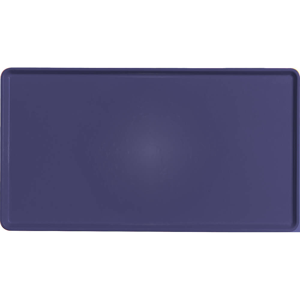 "Grape, 12"" x 22"" Healthcare Food Trays, Low Profile, 12/PK"