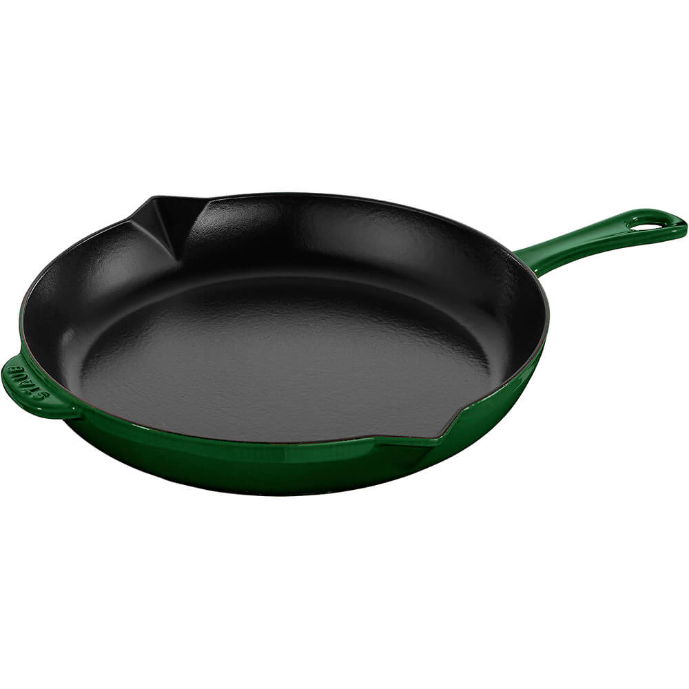 "Basil, 12"" Cast Iron Frying Pan"