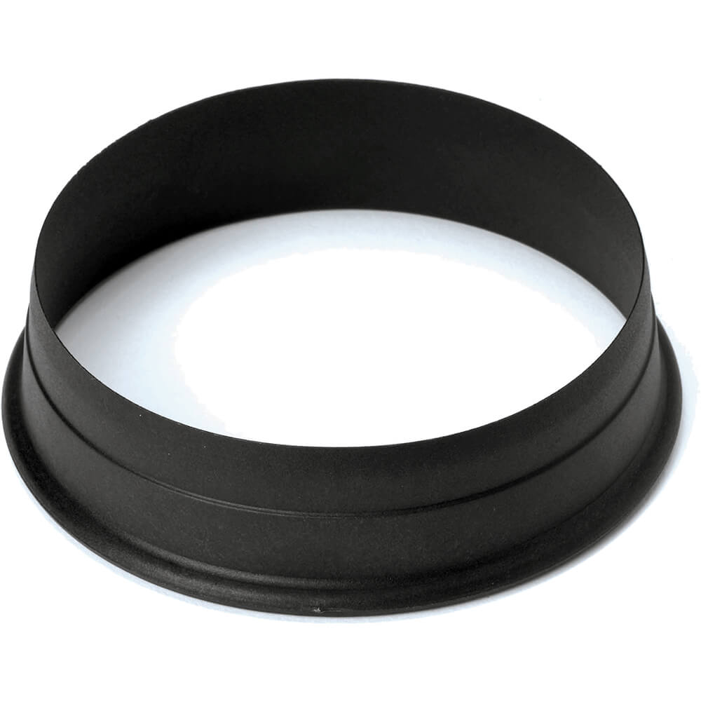 Black, Composite Fiberglass Round Pa+ Cookie Cutter 3.13""