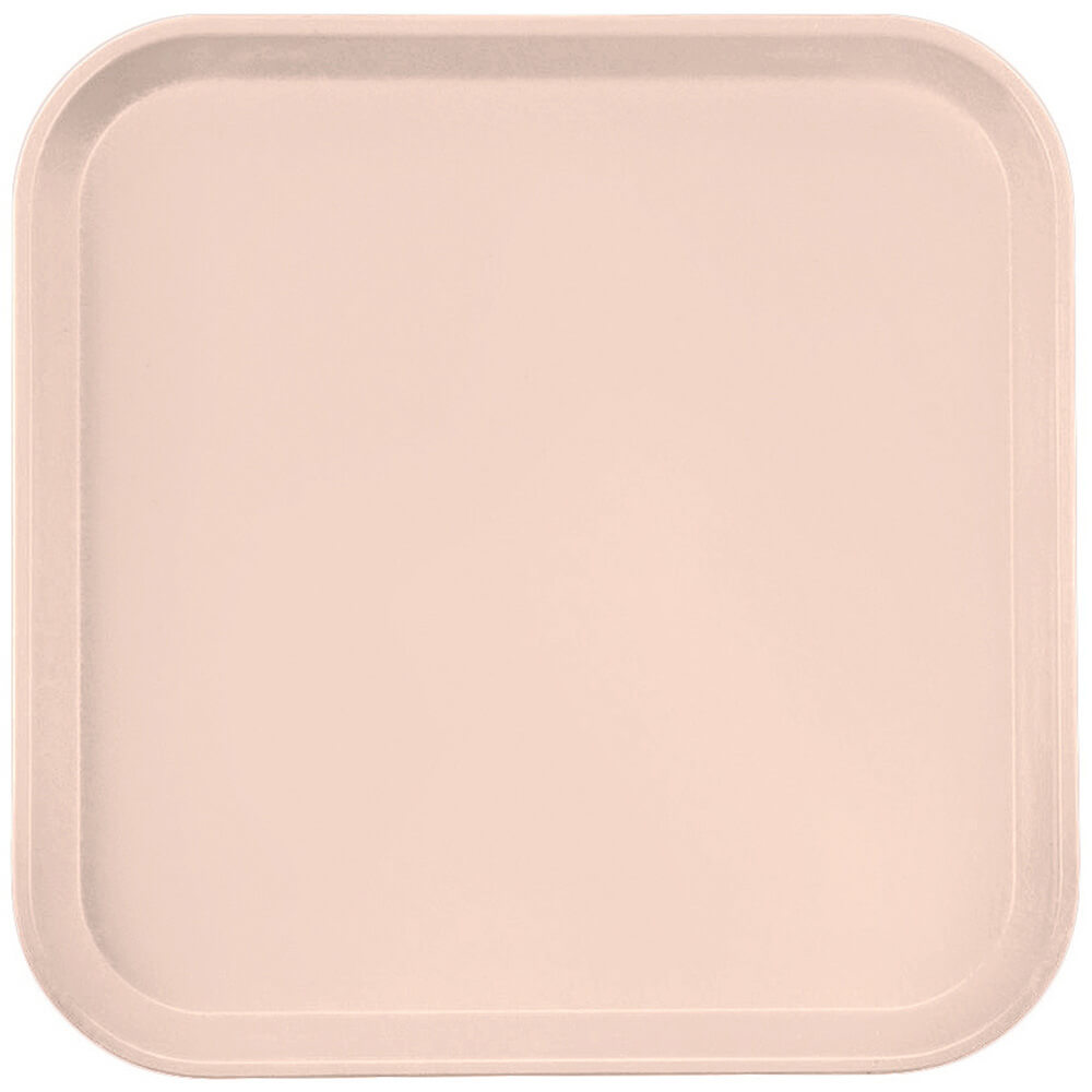 "Light Peach, 13"" x 13"" (33x33 cm) Trays, 12/PK"