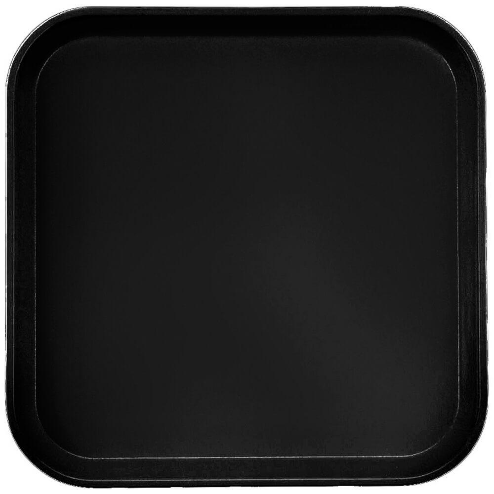 """Black, 13"""" x 13"""" (33x33 cm) Trays, 12/PK"""