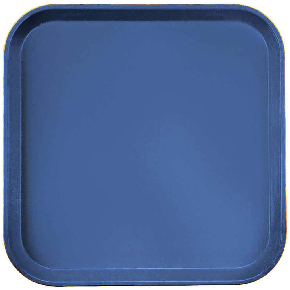 "Amazon Blue, 13"" x 13"" (33x33 cm) Trays, 12/PK"