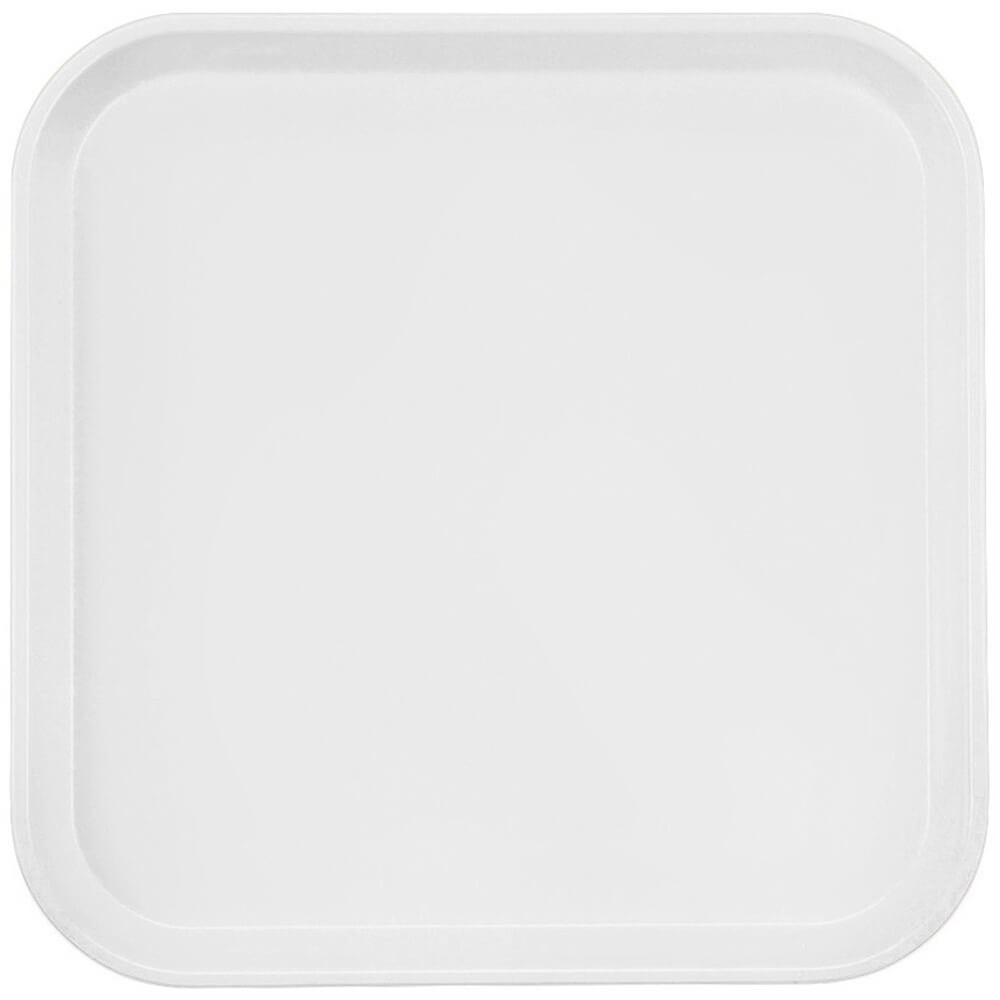 """White, 13"""" x 13"""" (33x33 cm) Trays, 12/PK"""