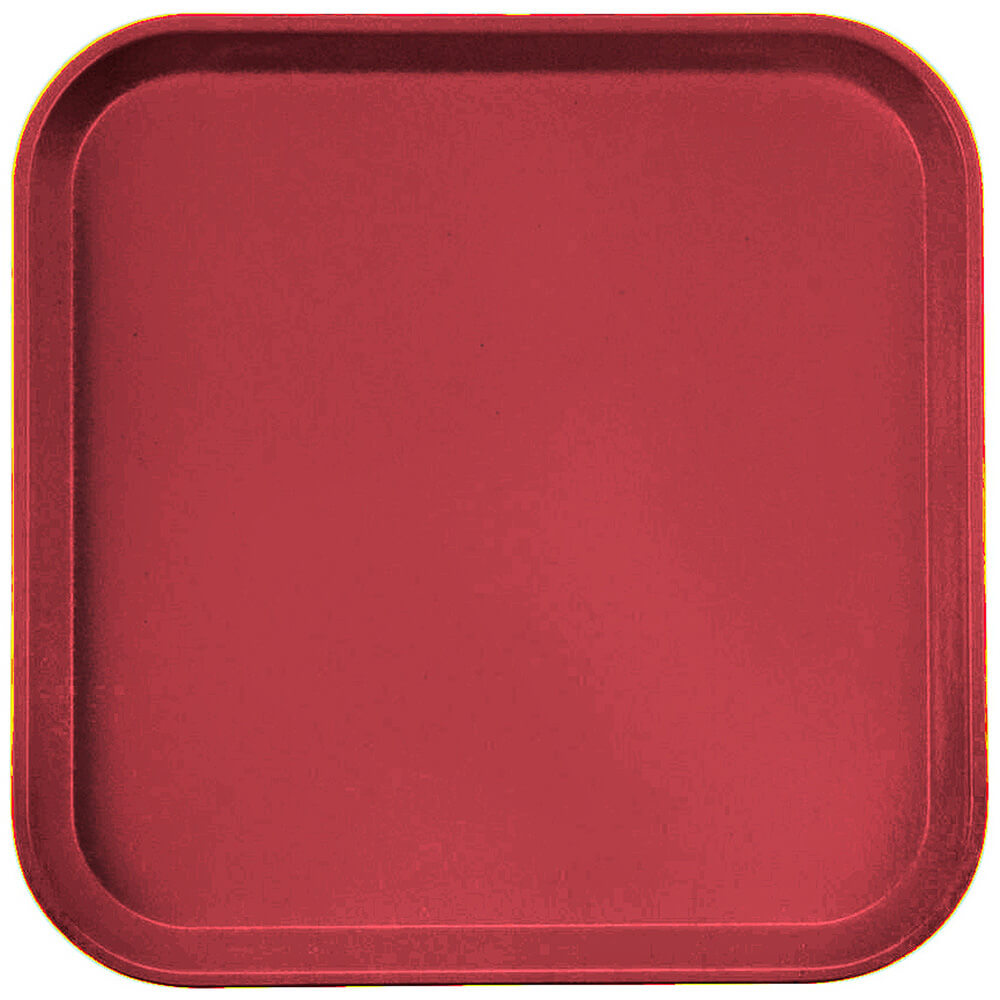 "Ever Red, 13"" x 13"" (33x33 cm) Trays, 12/PK"