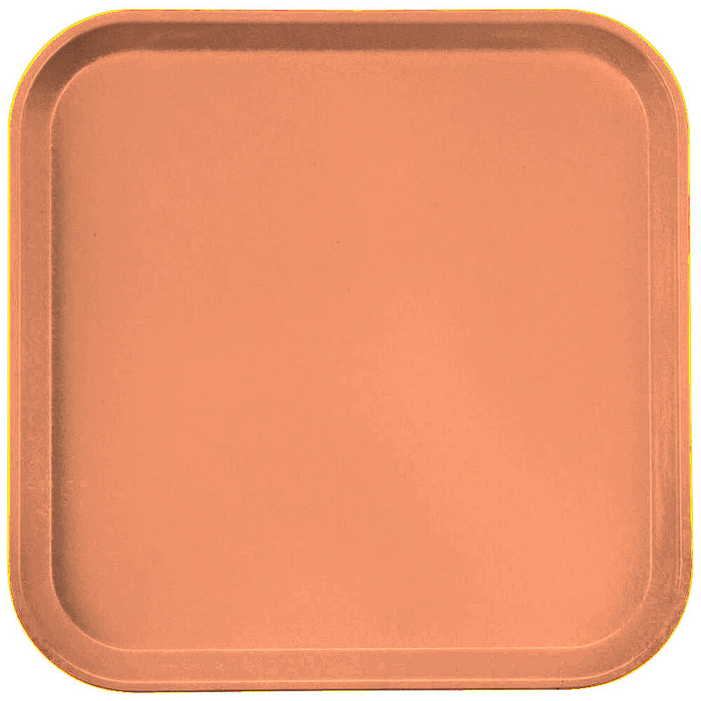 "Orange Pizazz, 13"" x 13"" (33x33 cm) Trays, 12/PK"