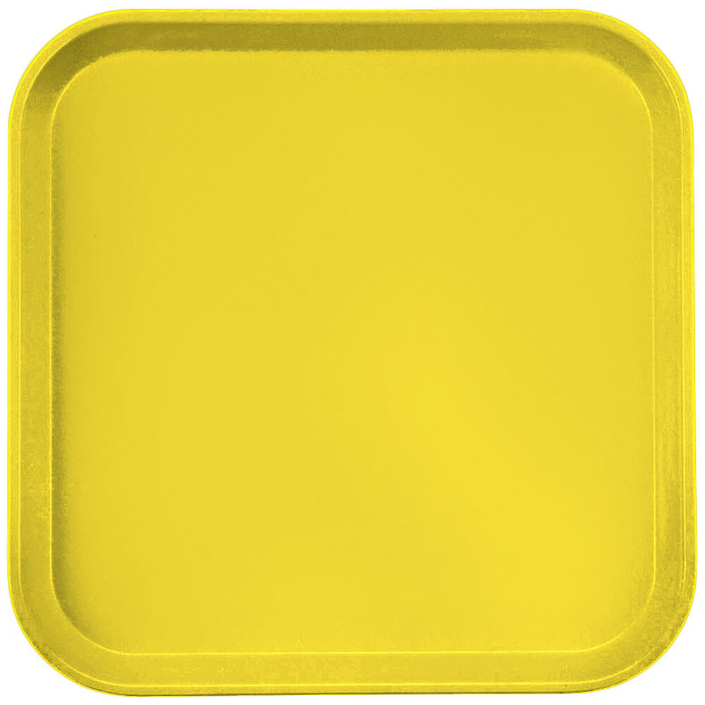 "Mustard, 13"" x 13"" (33x33 cm) Trays, 12/PK"