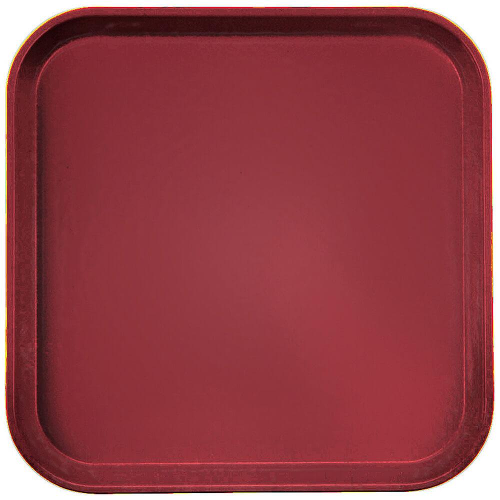 """Cherry Red, 13"""" x 13"""" (33x33 cm) Trays, 12/PK"""