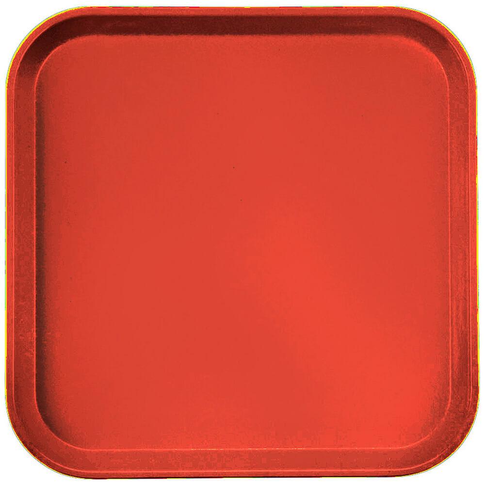 """Signal Red, 13"""" x 13"""" (33x33 cm) Trays, 12/PK"""