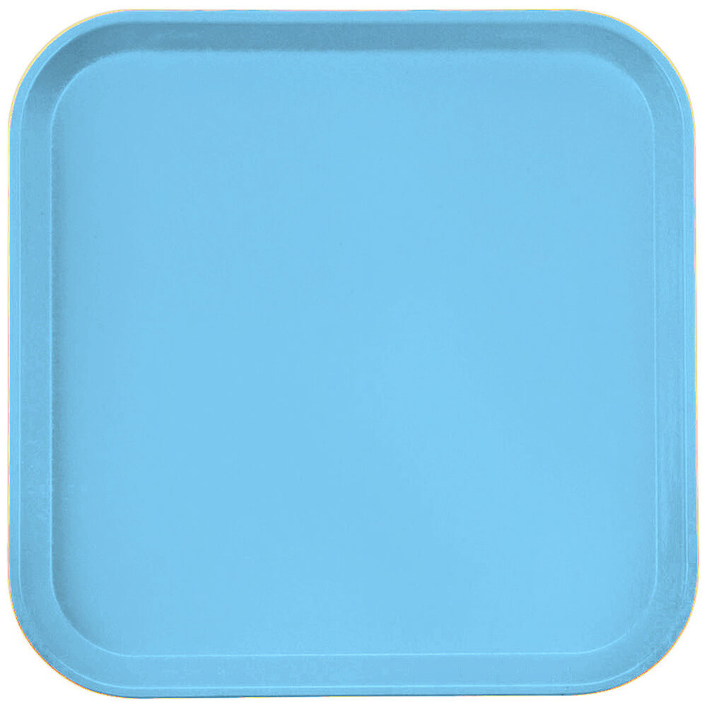 "Robin Egg Blue, 13"" x 13"" (33x33 cm) Trays, 12/PK"