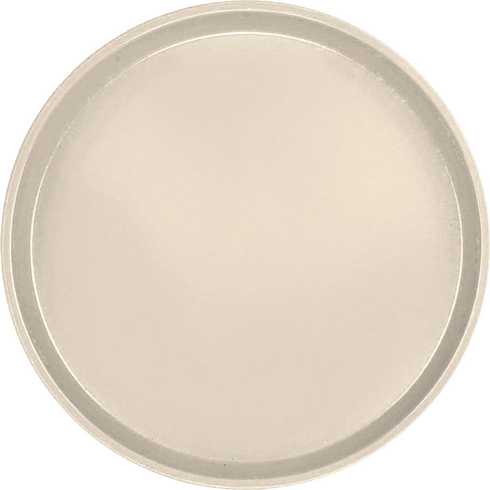 "Desert Tan, 14"" Round Serving Tray, Fiberglass, 12/PK"
