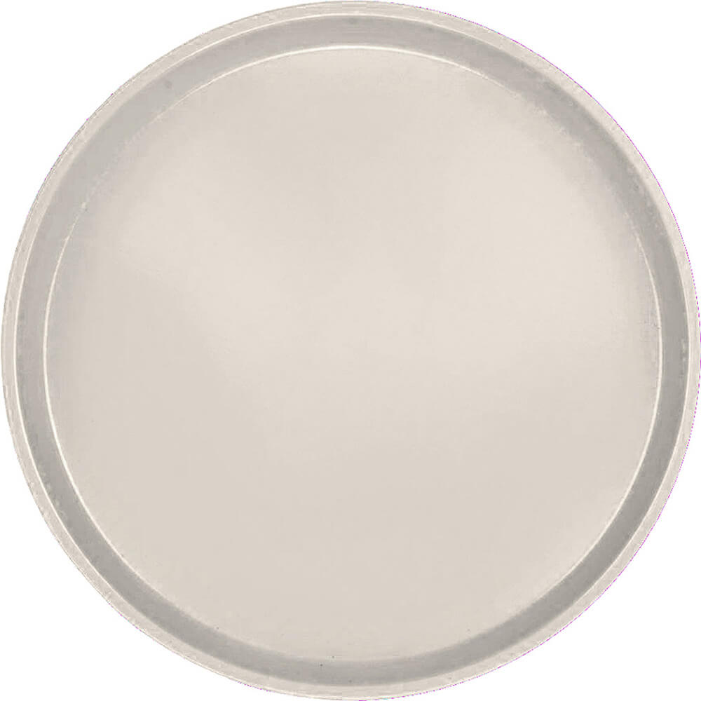 "Cottage White, 13"" Round Serving Tray, Fiberglass, 12/PK"