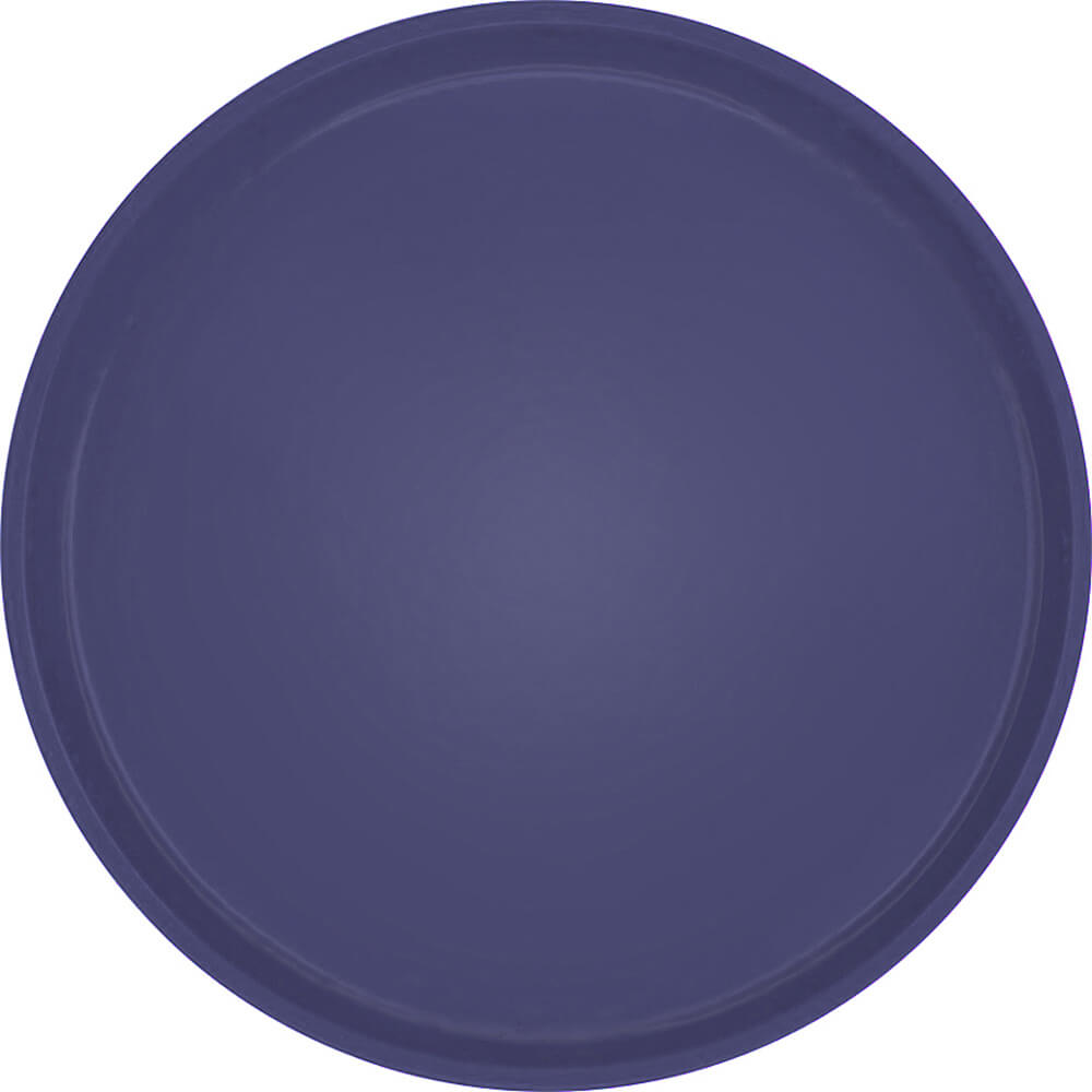 "Grape, 16"" Low Profile Round Serving Tray, Fiberglass, 12/PK"