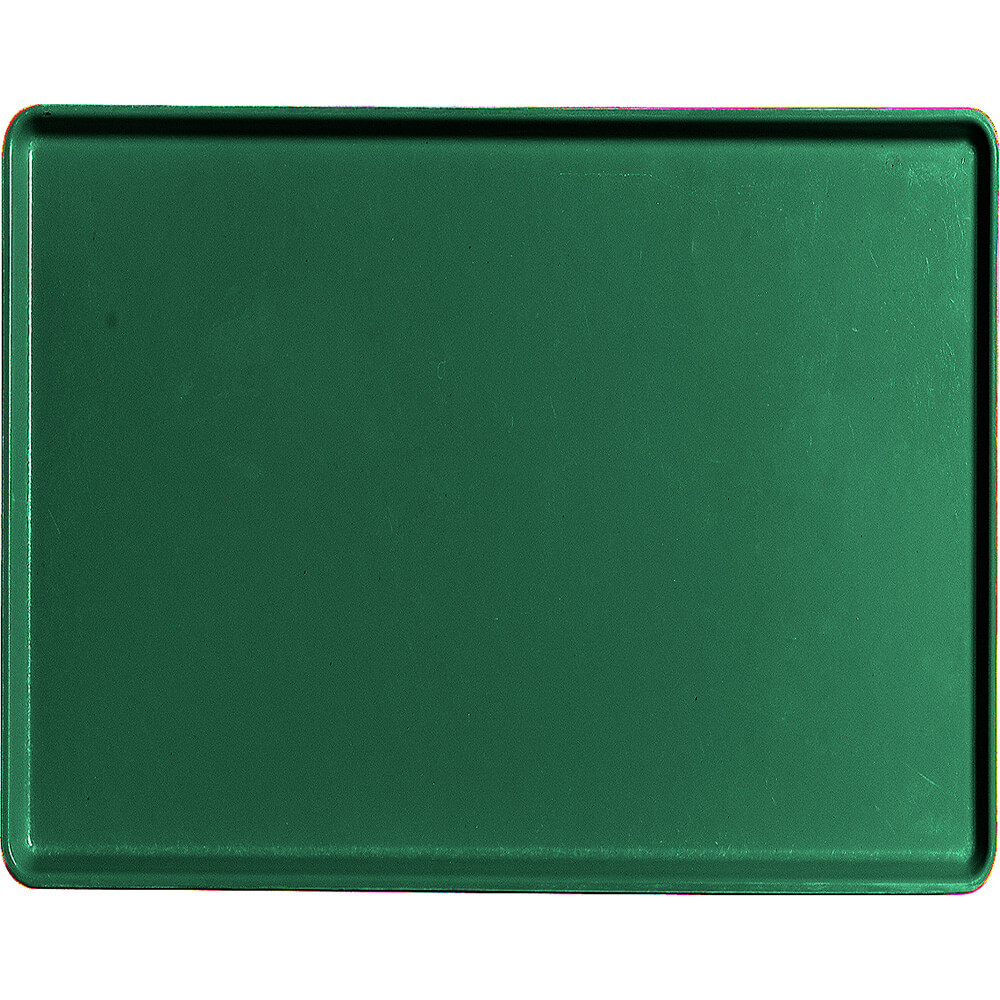 "Sherwood Green, 14"" x 18"" Healthcare Food Trays, Low Profile, 12/PK"