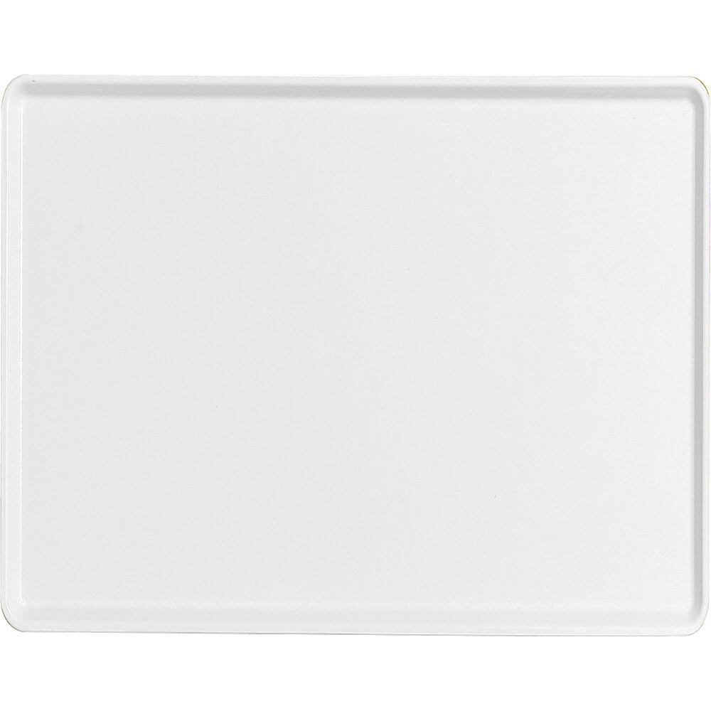 "White, 14"" x 18"" Healthcare Food Trays, Low Profile, 12/PK"
