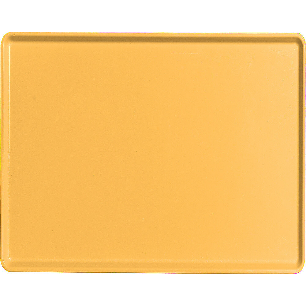 "Tuscan Gold, 14"" x 18"" Healthcare Food Trays, Low Profile, 12/PK"