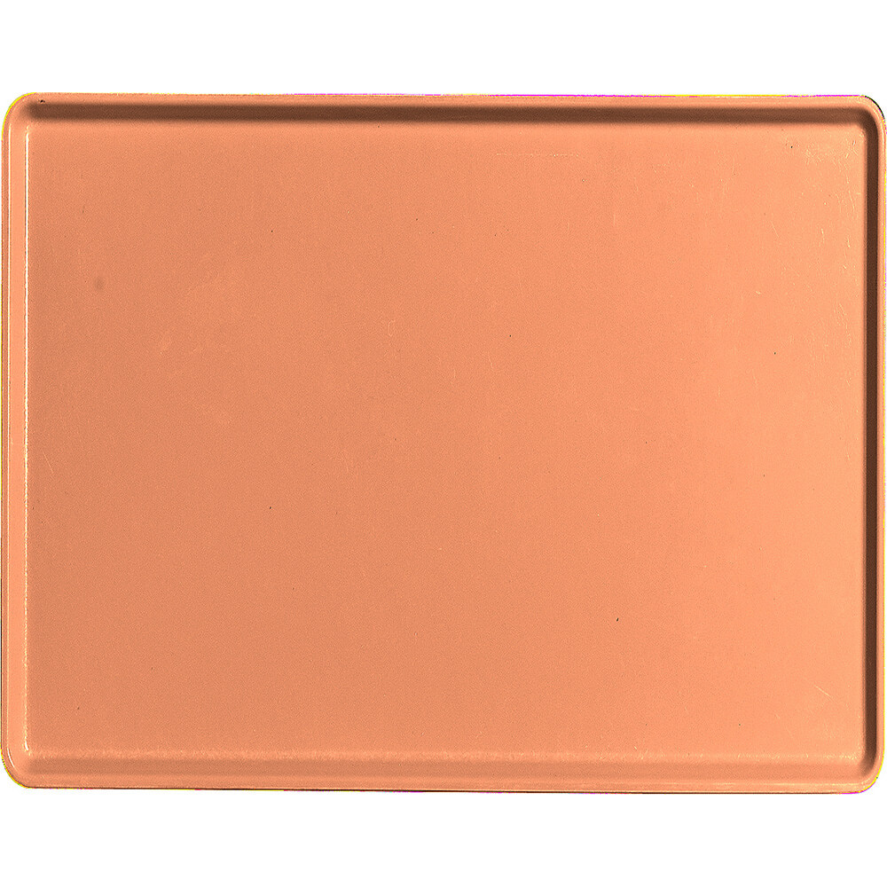 "Orange Pizazz, 14"" x 18"" Healthcare Food Trays, Low Profile, 12/PK"