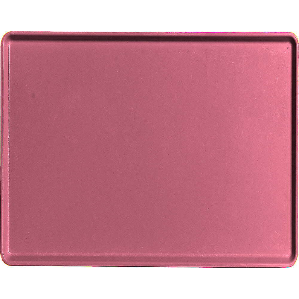 "Raspberry Cream, 14"" x 18"" Healthcare Food Trays, Low Profile, 12/PK"
