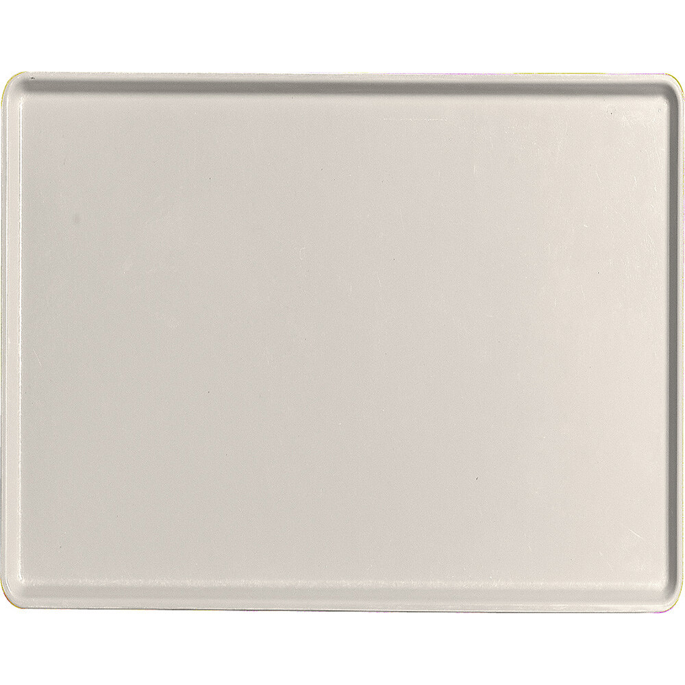 "Cottage White, 14"" x 18"" Healthcare Food Trays, Low Profile, 12/PK"