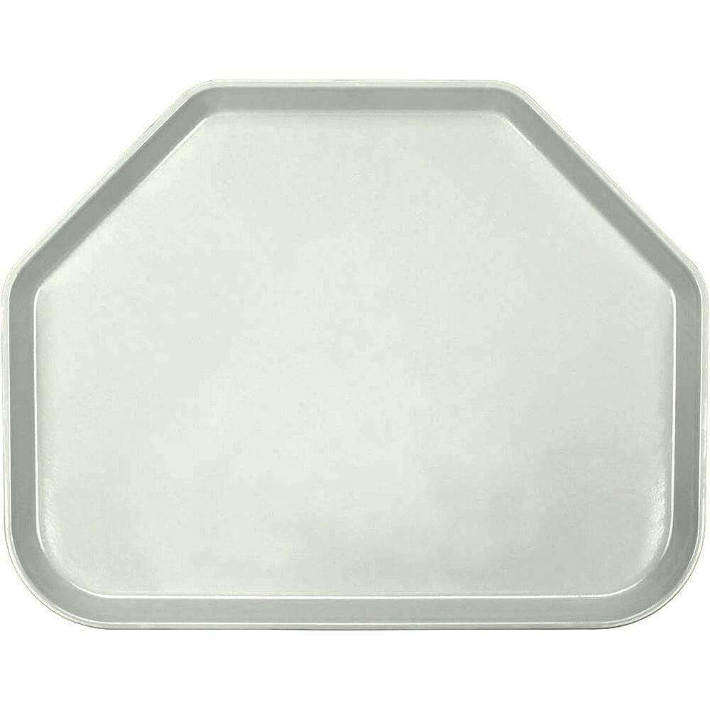 """Antique Parchment, 14""""x18"""" Trapezoid Food Trays, Fiberglass, 12/PK"""