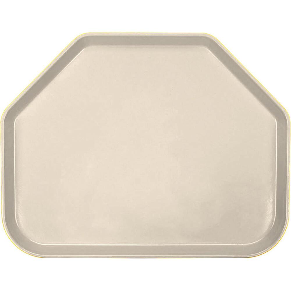 """Beige, 14"""" X 18"""" Trapezoid Polycarbonate Trays, 12/PK"""