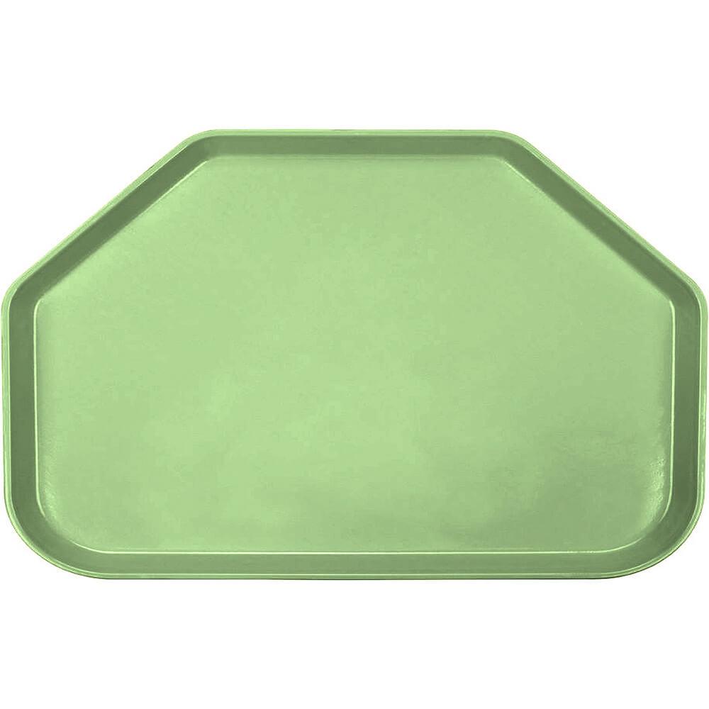 "Lime-Ade, 14""x22"" Trapezoid Food Trays, Fiberglass, 12/PK"