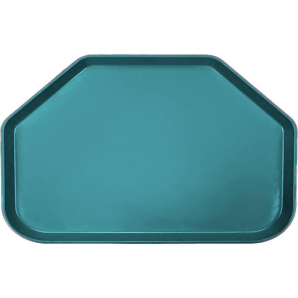 "Slate Blue, 14""x22"" Trapezoid Food Trays, Fiberglass, 12/PK"