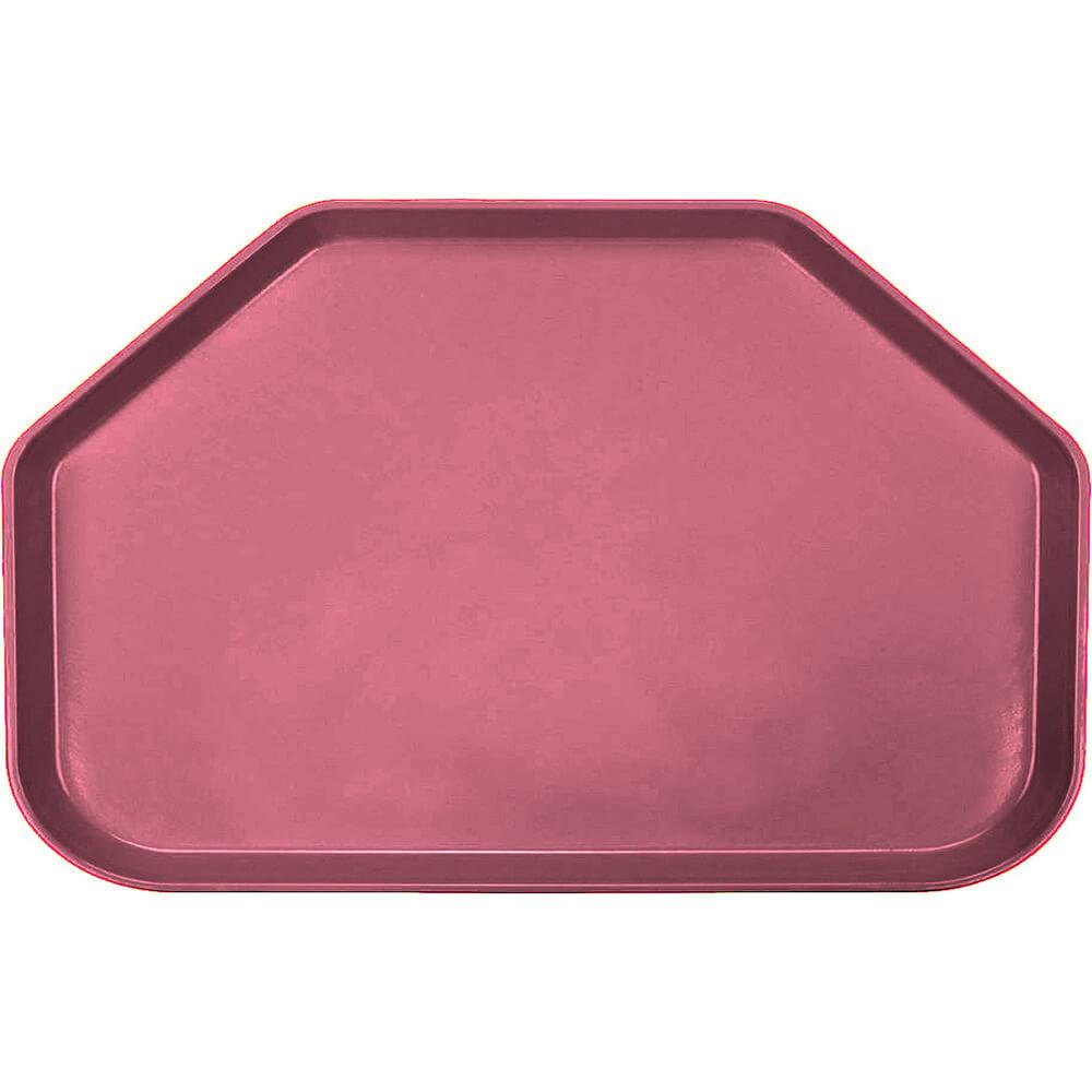"Raspberry Cream, 14""x22"" Trapezoid Food Trays, Fiberglass, 12/PK"