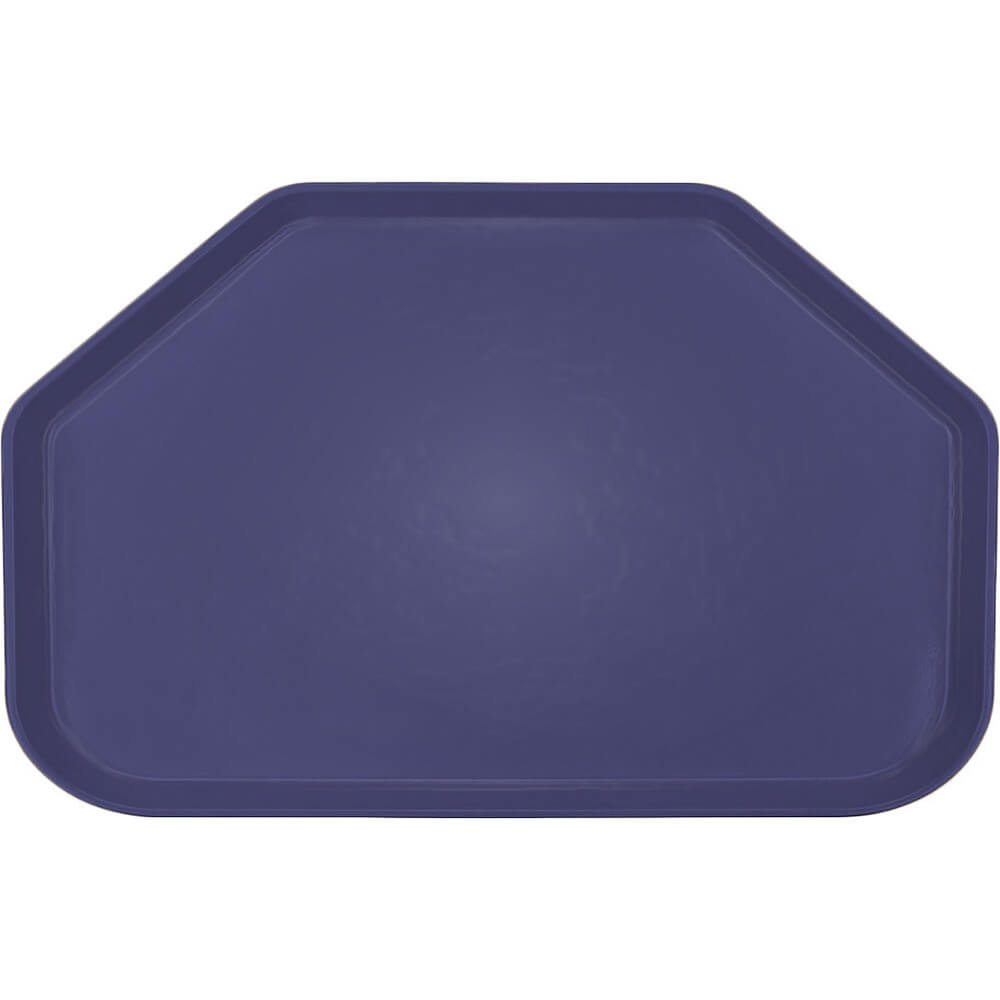 "Grape, 14""x22"" Trapezoid Food Trays, Fiberglass, 12/PK"