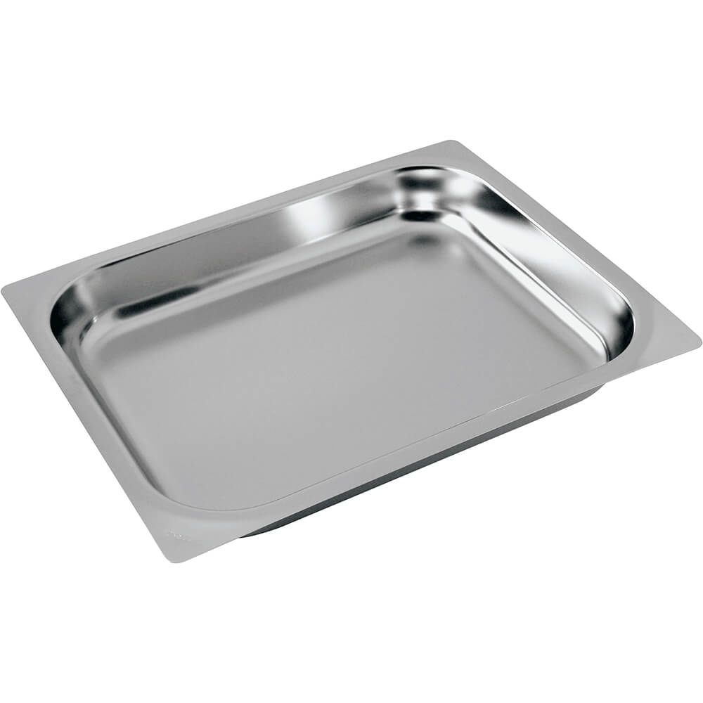 "Stainless Steel Baking Pan 1/2 Gn, 0.75"" Deep"