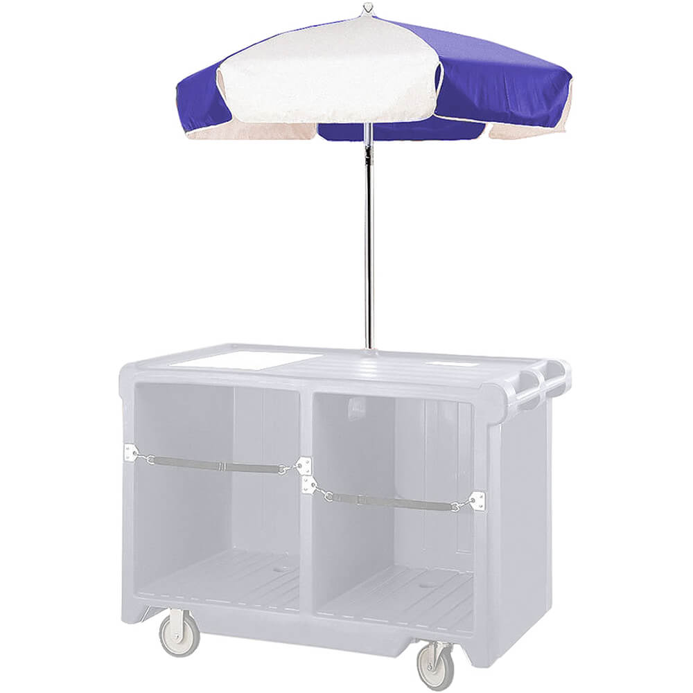 1-Umbrella, Blue and White