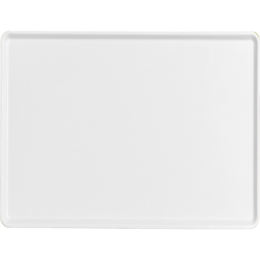 "White, 15"" x 20"" Healthcare Food Trays, Low Profile, 12/PK"