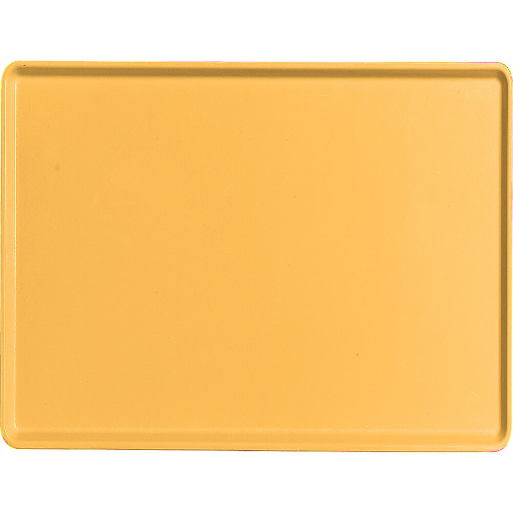 "Tuscan Gold, 15"" x 20"" Healthcare Food Trays, Low Profile, 12/PK"