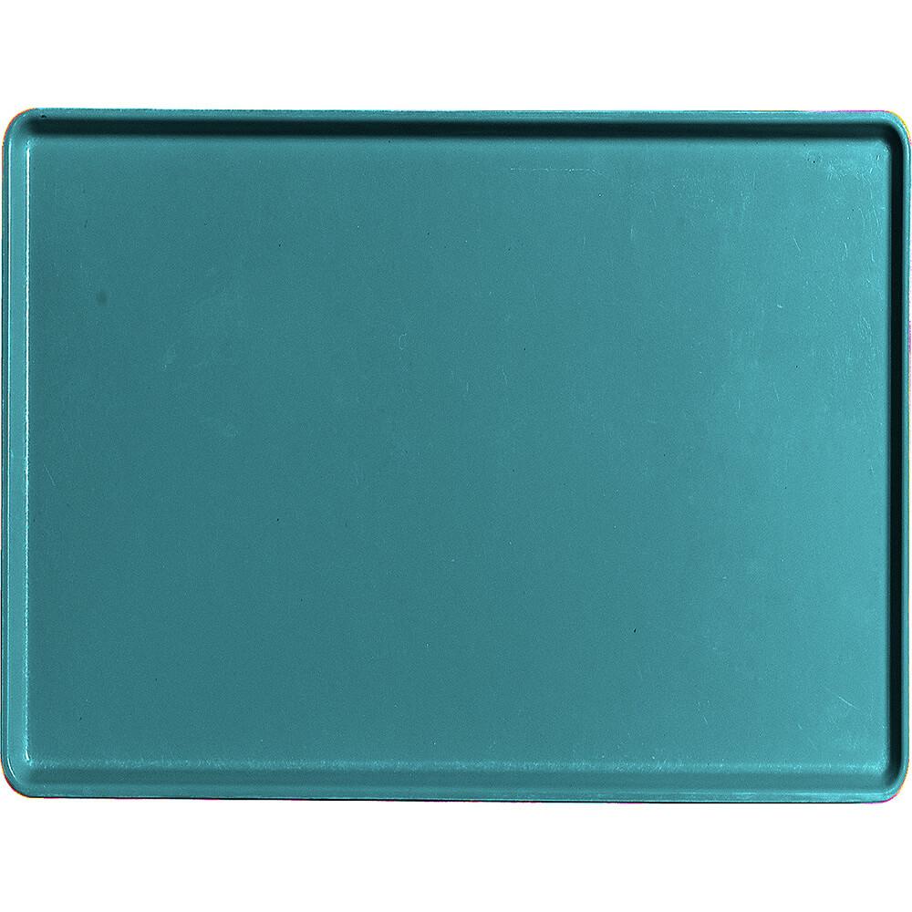 "Slate Blue, 15"" x 20"" Healthcare Food Trays, Low Profile, 12/PK"