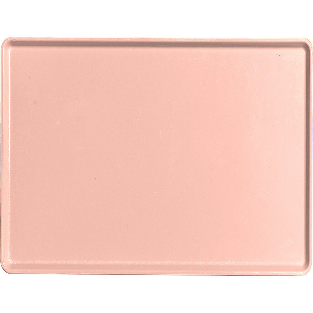 "Blush, 15"" x 20"" Healthcare Food Trays, Low Profile, 12/PK"